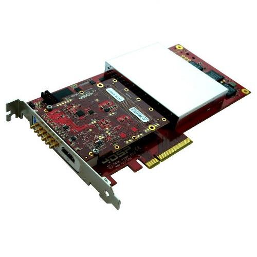 PC760 Kintex-7™ PCIe | Single channel 12-bit 3 6 Gsps ADC